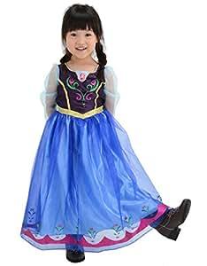 ディズニー アナと雪の女王 おしゃれドレス アナ 100cm-110cm
