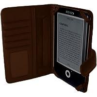 Navitech 茶 合皮 カバー( 東芝 REGZA Tablet AT3S0/35D PA3S035DNAS ) 7インチサイズタブレット 対応