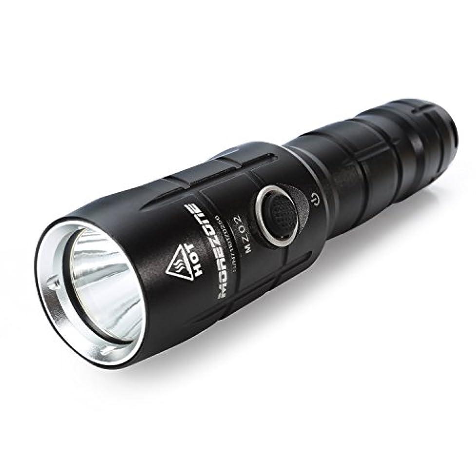 ジムボイラー少年LED 懐中電灯 充電式 MOREZONE 強力 超高輝度 ハンディライト 電池付き ズーム式5モード SOS点滅 停電 防災対策 …