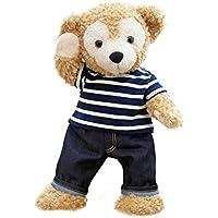 cushu cush ダッフィー 服 コスチューム Duffy Shelliemey 紺のシマシマTシャツ & パンツ 43cm Sサイズ