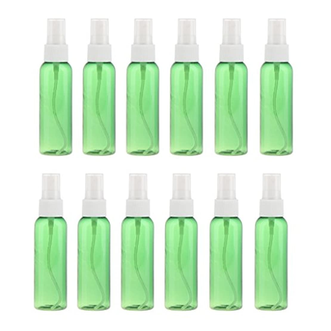 も音楽を聴く補うSONONIA 空瓶 スプレーボトル ミストスプレー 液体香水 化粧水 60ml 12個 全3色 - 白
