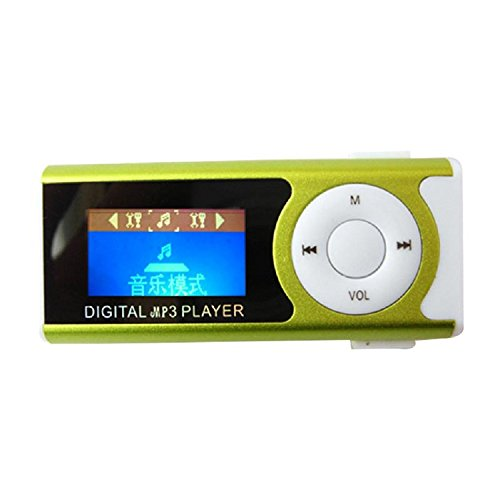 [해외]AMAA MP3 플레이어 음악 플레이어 클립 LED 라이트 디지털 휴대 편리/AMAA MP3 player Music player clip LED digital light with digital mobile convenient