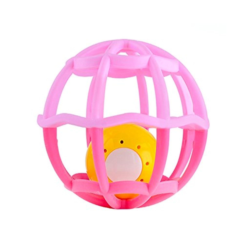 YChoice 可愛い赤ちゃんのおもちゃ ギフト ベビー キュート プラスチック ハンドラトル ベル キッズ 面白いボール おもちゃ ギフト
