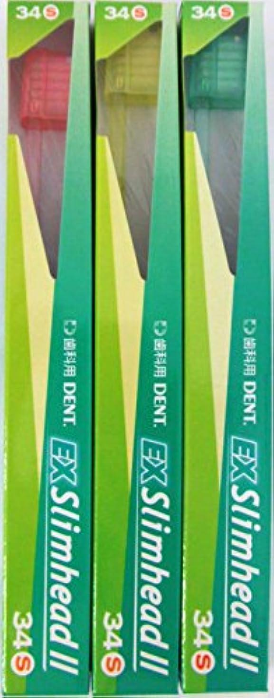 データベース材料許すライオン DENT.EX スリムヘッド ツー 34S (3本セット)