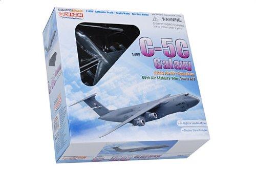1:400 ドラゴンモデルズ 56273 ロックヒード C-5C ギャラクシー ダイキャスト モデル USAF 60th AMW 22nd AS #68-0213 Travis AFB【並行輸入品】