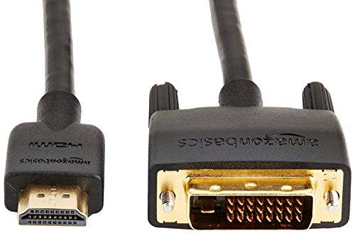 『Amazonベーシック HDMI-DVI 変換ケーブル 1.8m (タイプAオス - DVI24pinオス)』の3枚目の画像
