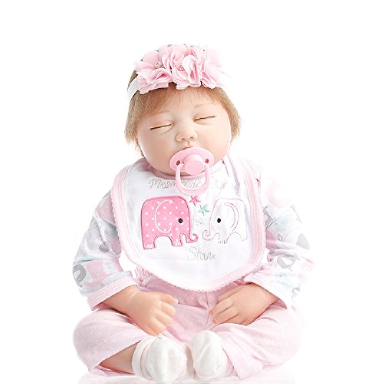 NPK collection Rebornベビー人形リアルな赤ちゃん人形ビニールシリコン赤ちゃん22インチ55 cm Sleeping Princess