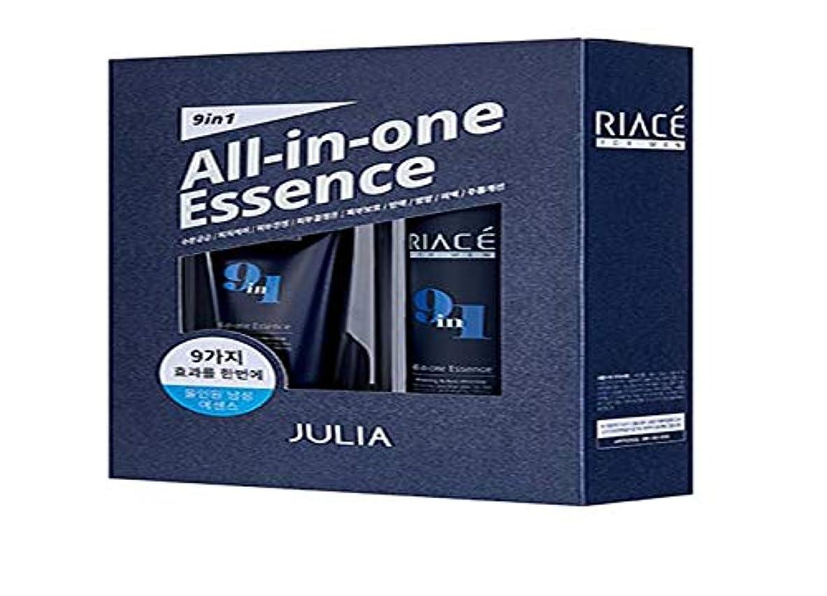 村とにかく意味Korean Cosmetics Julia RIACE For men All-in-one Essence Perfection (Toner + Emulsion + Essence) 韓国化粧品ジュリア 男性用オールインワンエッセンスパーフェクトパーフェクト...