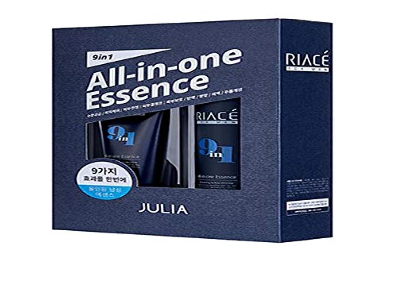 補助寄生虫ディスコKorean Cosmetics Julia RIACE For men All-in-one Essence Perfection (Toner + Emulsion + Essence) 韓国化粧品ジュリア 男性用オールインワンエッセンスパーフェクトパーフェクト...