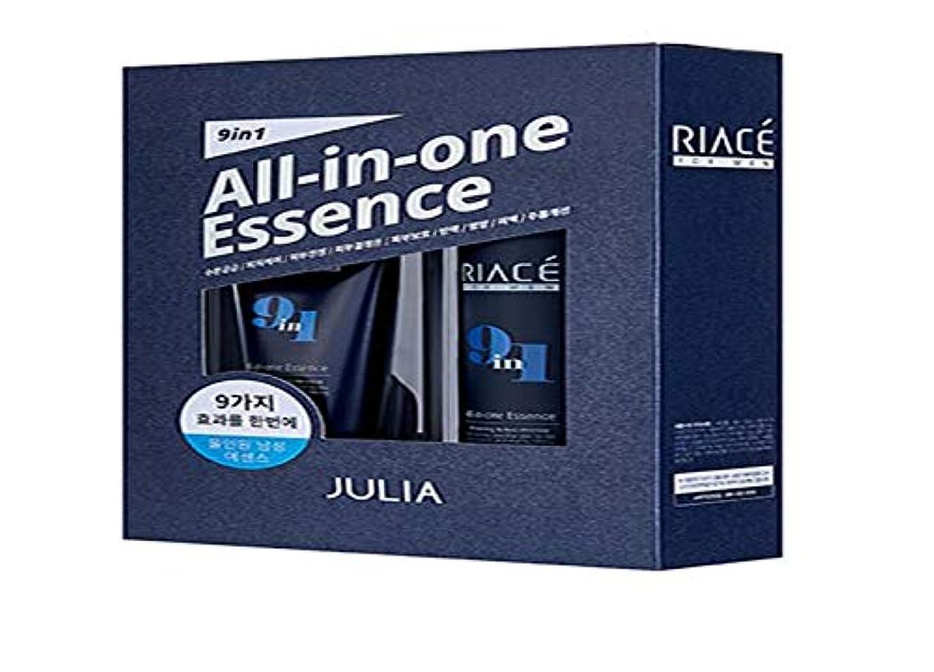 乳協会後退するKorean Cosmetics Julia RIACE For men All-in-one Essence Perfection (Toner + Emulsion + Essence) 韓国化粧品ジュリア 男性用オールインワンエッセンスパーフェクトパーフェクト...