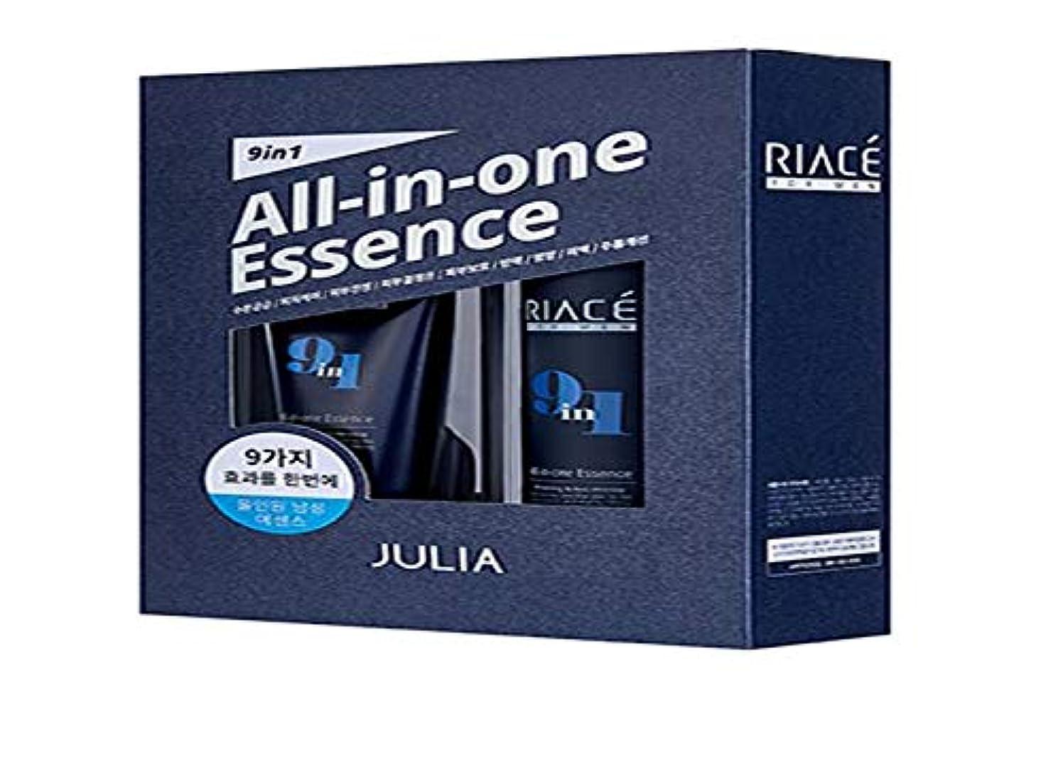 登る証明するスリップKorean Cosmetics Julia RIACE For men All-in-one Essence Perfection (Toner + Emulsion + Essence) 韓国化粧品ジュリア 男性用オールインワンエッセンスパーフェクトパーフェクト...