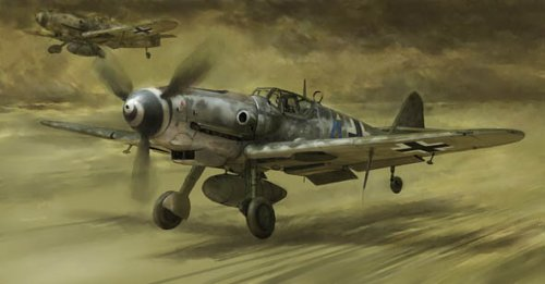 1/72 メッサーシュミット Bf109G-10 レーゲンスブルグ工場製 W.Nr.Block 130000
