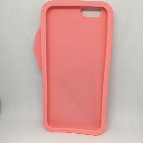 gelato pique(ジェラート ピケ) iphone6/6S シリコンカバー ケース 3カラー アイスクリーム 3D (ピンク)