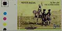 The Scinde House Thematic Rs. 5 Single Indian Stamp Traffic Light
