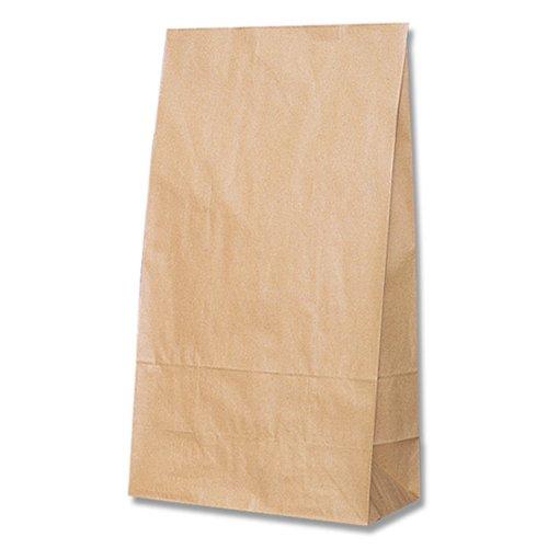 ヘイコー 紙袋 角底袋 LL クラフト 26x14x48cm 100枚