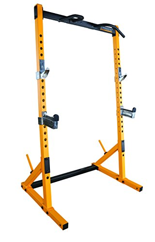Powertec Fitness ワークベンチ rack-yellow B01IRMFDMM 1枚目