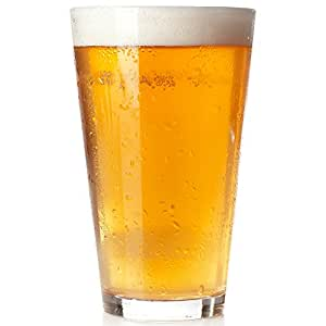 amazon co jp 6 pack royal beer glass set 6 pack holds a