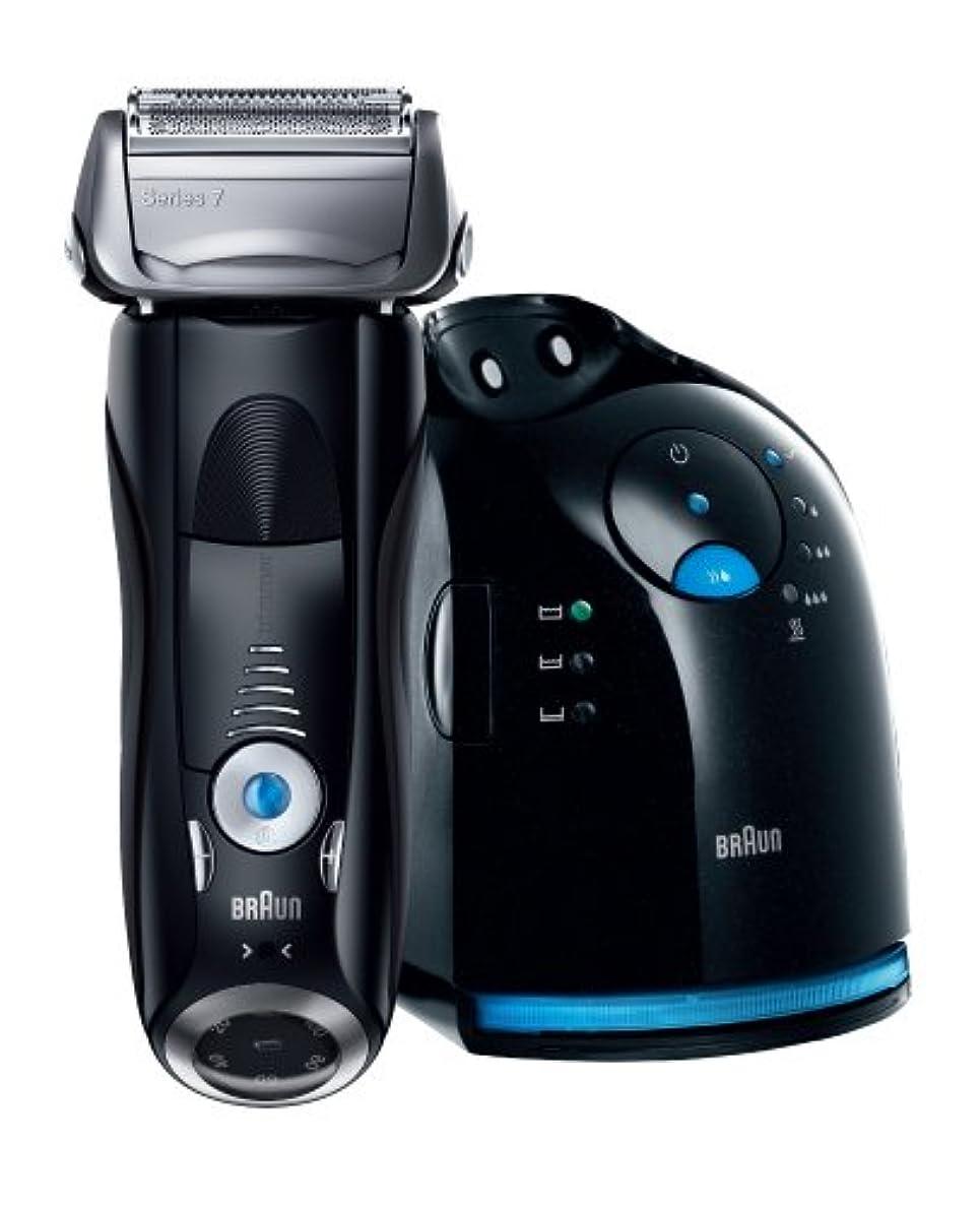 縁無音節ブラウン シェーバー シリーズ7 【アルコール洗浄システム(ファストクリーン&乾燥機能搭載)】 760cc-7