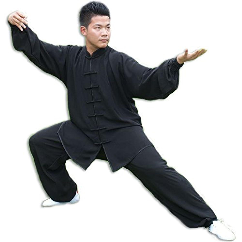 【Ludus Felix】太極拳 服 カンフー 中国拳法 少林寺拳法 メンズ レディース 上下セット