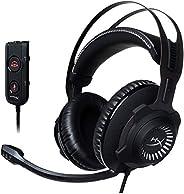 HyperX Cloud Revolver S ゲーミングヘッドセット 7.1ch Dolby USBオーディオコントロールボックス付屬PS4/PC/Xbox/Switch/スマホ HX-HSCRS-GM/AS