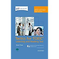 Tactics for Toeic: Listening and Reading Test Pack(Book+CD-ROM) (Tactics for TOEIC (R) Listening and Reading Test)