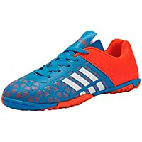 Aiweijia Unisex Kids' Printed Low Top Wear Resistant Rubber Sole Soccer Sneaker