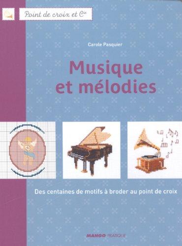 MANGO 「MUSIQUE ET MELODIES」 クロスステッチ図案・作品集-フランス語