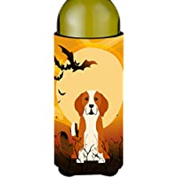 Carolines Treasures BB4376LITERK Halloween English Foxhound Wine Bottle Beverge Insulator Hugger