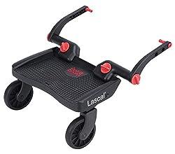 ラスカル バギーボード 静音ラバータイヤとサスペンションで快適乗り心地 上の子も下の子も一度にお迎えできる 【総輸入販売元】 3Dレッド
