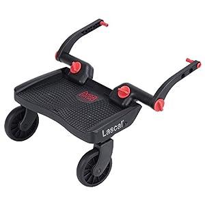 ラスカル バギーボード 静音ラバータイヤとサスペンションで快適乗り心地 上の子も下の子も一度にお迎えできる 【総輸入販売元】/3Dレッド