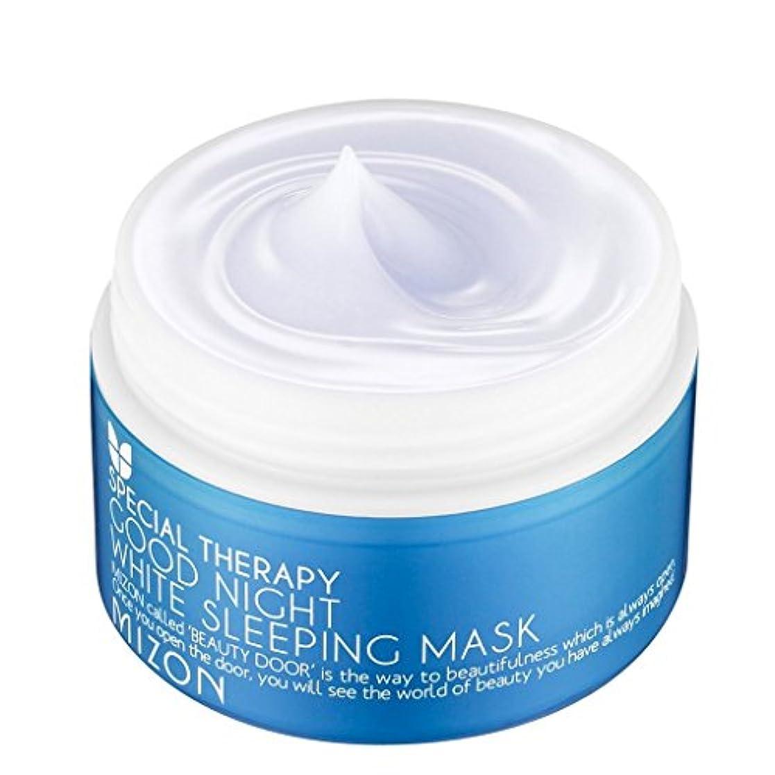 みすぼらしい衰える第九MIZON Good Night White Sleeping Mask (並行輸入品)