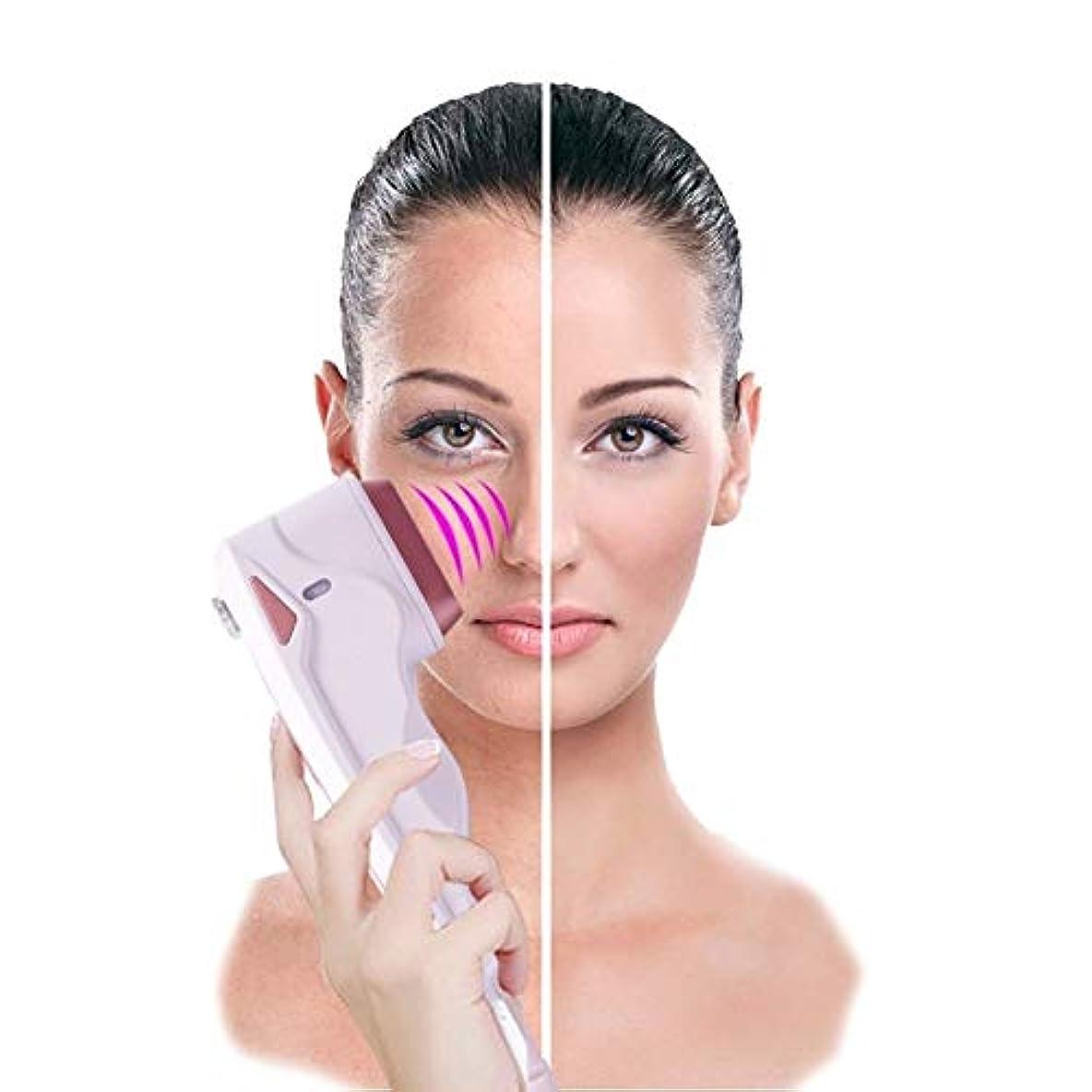 インセンティブ葉まとめる美顔術の持ち上がる機械振動無線周波数のしわは反老化のためのスキンケアの美装置を取り除きます、皮膚のきつく締まるガルバニック微電流の改装機械
