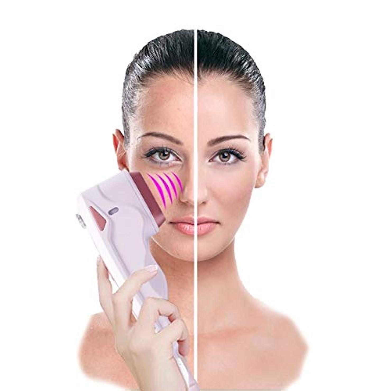 電気陽性栄光ポテト美顔術の持ち上がる機械振動無線周波数のしわは反老化のためのスキンケアの美装置を取り除きます、皮膚のきつく締まるガルバニック微電流の改装機械