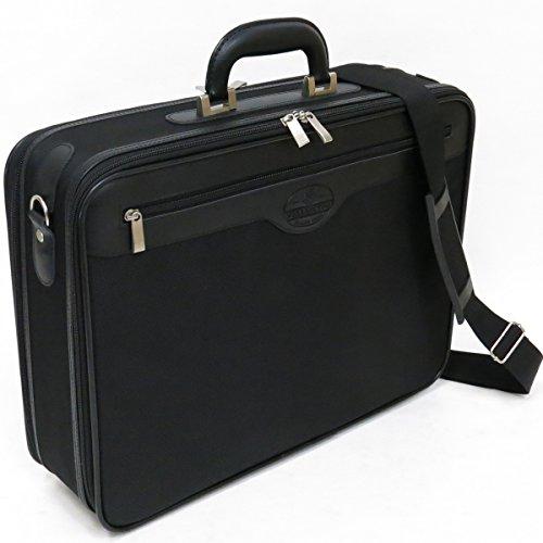[ウエリントン] WELLINGTON ソフトアタッシュケース 21219 A3対応 ビジネスバッグ ジャバラ付 45cm 1410g