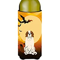 Carolines Treasures BB4301LITERK Halloween Saint Bernard Wine Bottle Beverge Insulator Hugger