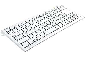 ビット・トレード・ワン 複数同時押し対応パンタグラフタイプコンパクトゲーミングキーボード ホワイト BFKB88PCWH