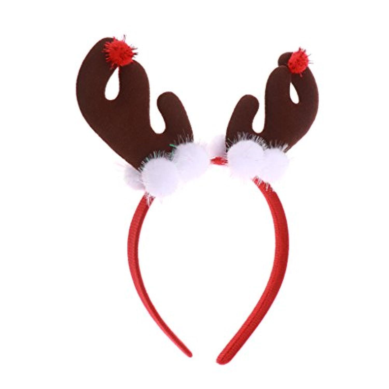 Dovewill クリスマス衣装 鹿 妖精 祭り 子供向け パーティー 雰囲気強く 伸縮性 面白い 柔らかく 全2色