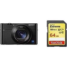 SONY コンパクトデジタルカメラ サイバーショット Cyber-shot DSC-RX100M5A + SDカード