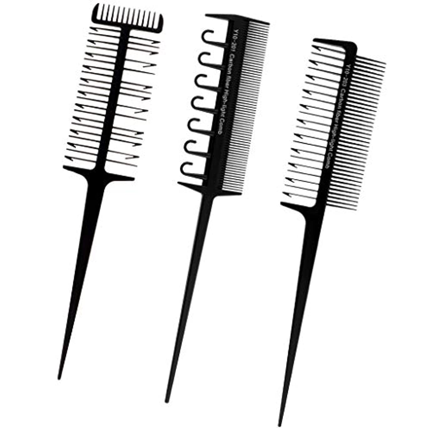 中性ルネッサンスフルーティーT TOOYFUL へアカラーセット 3本セット ヘアダイブラシ DIY髪染め用 サロン 美髪師用 ヘアカラーの用具