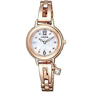 [シチズン]CITIZEN 腕時計 wicca ウィッカ ソーラーテック電波時計 ブレスライン ハッピーダイアリー KL0-961-11 レディース