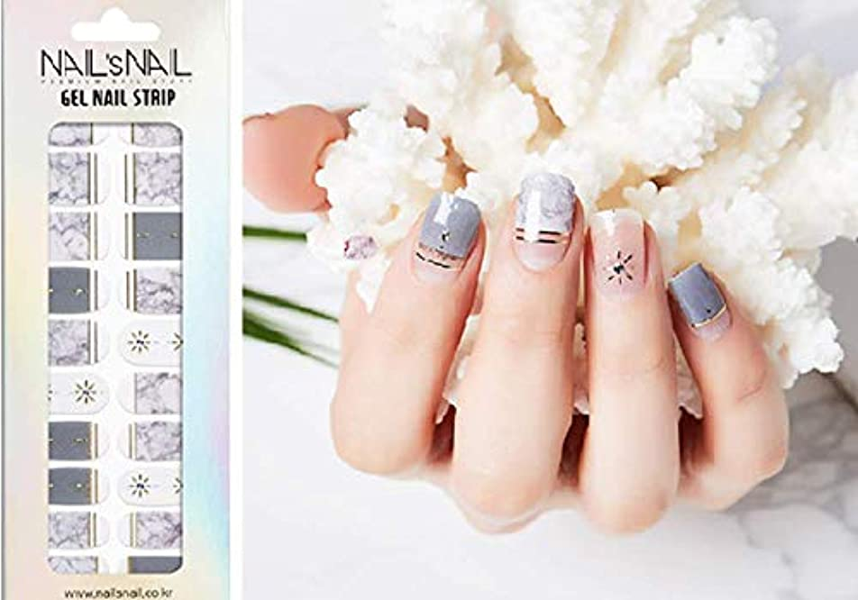 対処文献広告主\貼るジェルネイル/Nail's Nail(ネイルスネイル) ジェルネイルストリップ 100