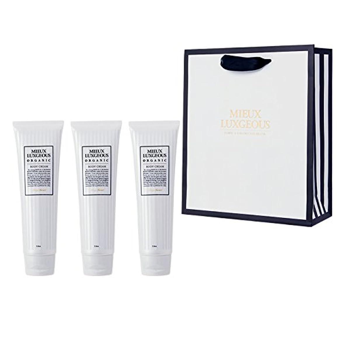 情熱的独立して橋脚Body Cream 3本set with Paperbag02