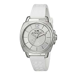 (コーチ) COACH コーチ 時計 レディース COACH 14502093 BOYFRIEND MINI ボーイフレンドミニ シグネチャー 腕時計 ウォッチ シルバー/ホワイト[並行輸入品]