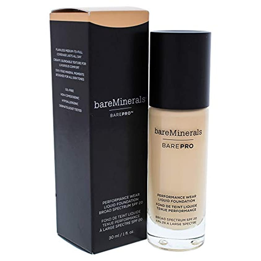 くさび遅い運命ベアミネラル BarePro Performance Wear Liquid Foundation SPF20 - # 04 Aspen 30ml/1oz並行輸入品