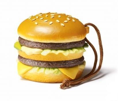 McDonald's FOOD STRAP/マクドナルド フードストラップ 第1弾 【1.ビッグマック】(食玩) 記号:まる
