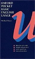 Oxford Pocket Basic English Usage