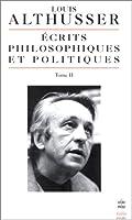 Ecrits Philosophiques Et Politiques T02 (Ldp Bib.Essais)
