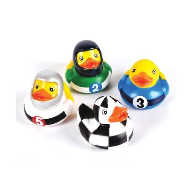 Rhode Island Novelty 2 Racing Rubber Duck (12 Piece) by Rhode Island Novelty [並行輸入品]