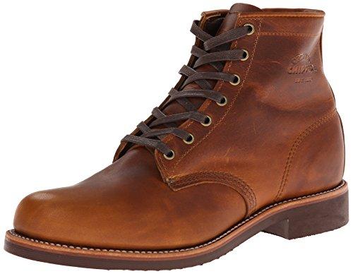 [チペワ] Chippewa ブーツ 6 PLAIN TOE SERVICE BOOTS サービスブーツ 1901M26 TAN RENEGADE (US9.0(27.0cm), TAN RENEGADE)