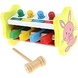 B Baosity 木製 打撃玩具 音楽玩具 子供 幼児 初期教育おもちゃ ギフト